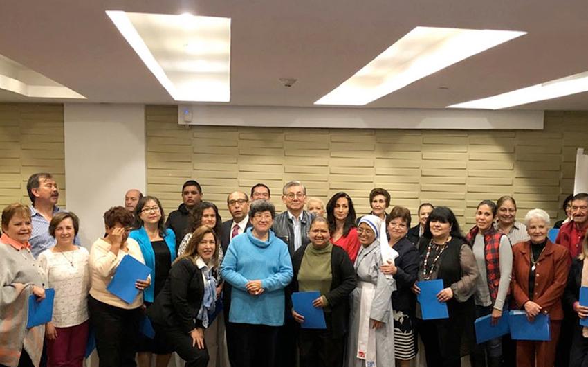 Clausura de cursos de la Escuela de la Fe sede Pachuca