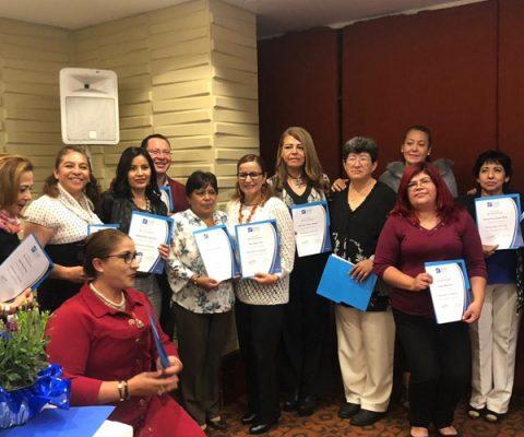 Clausura de Cursos Escuela de la Fe Sede Pachuca