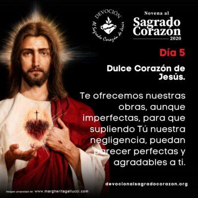 Novena Sagrado Corazon 5
