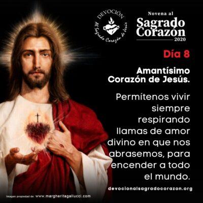 Novena Sagrado Corazon 8