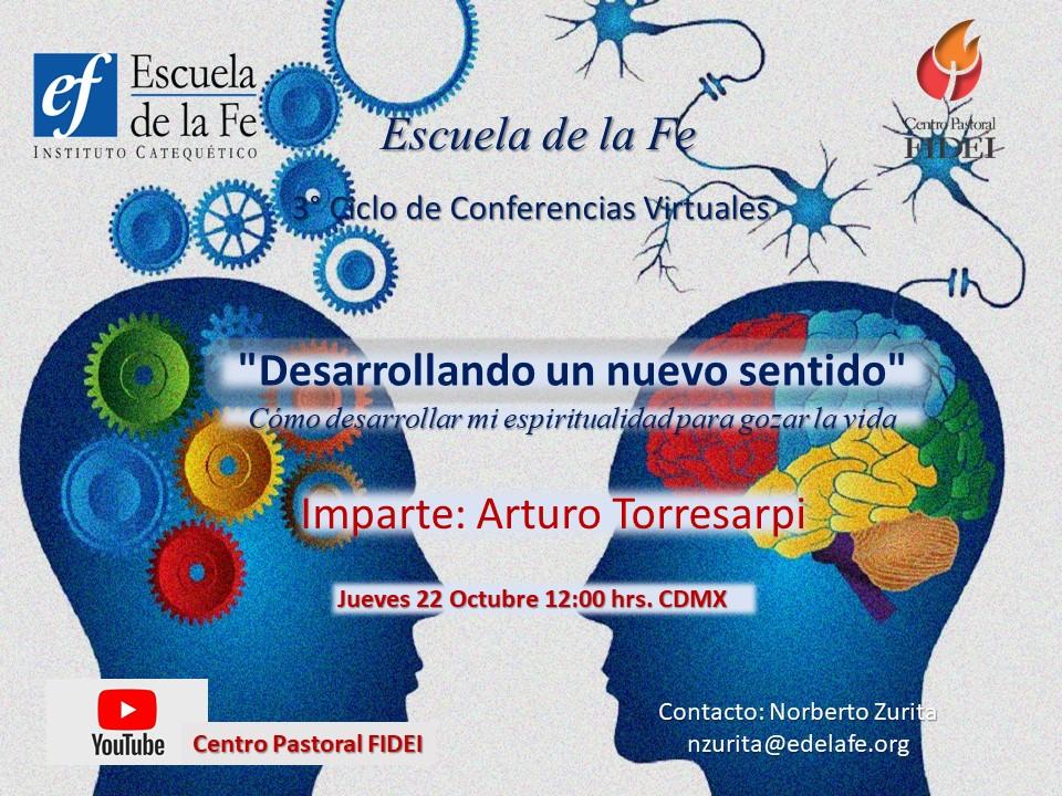 Ciclo de conferencias Virtuales Oct 22