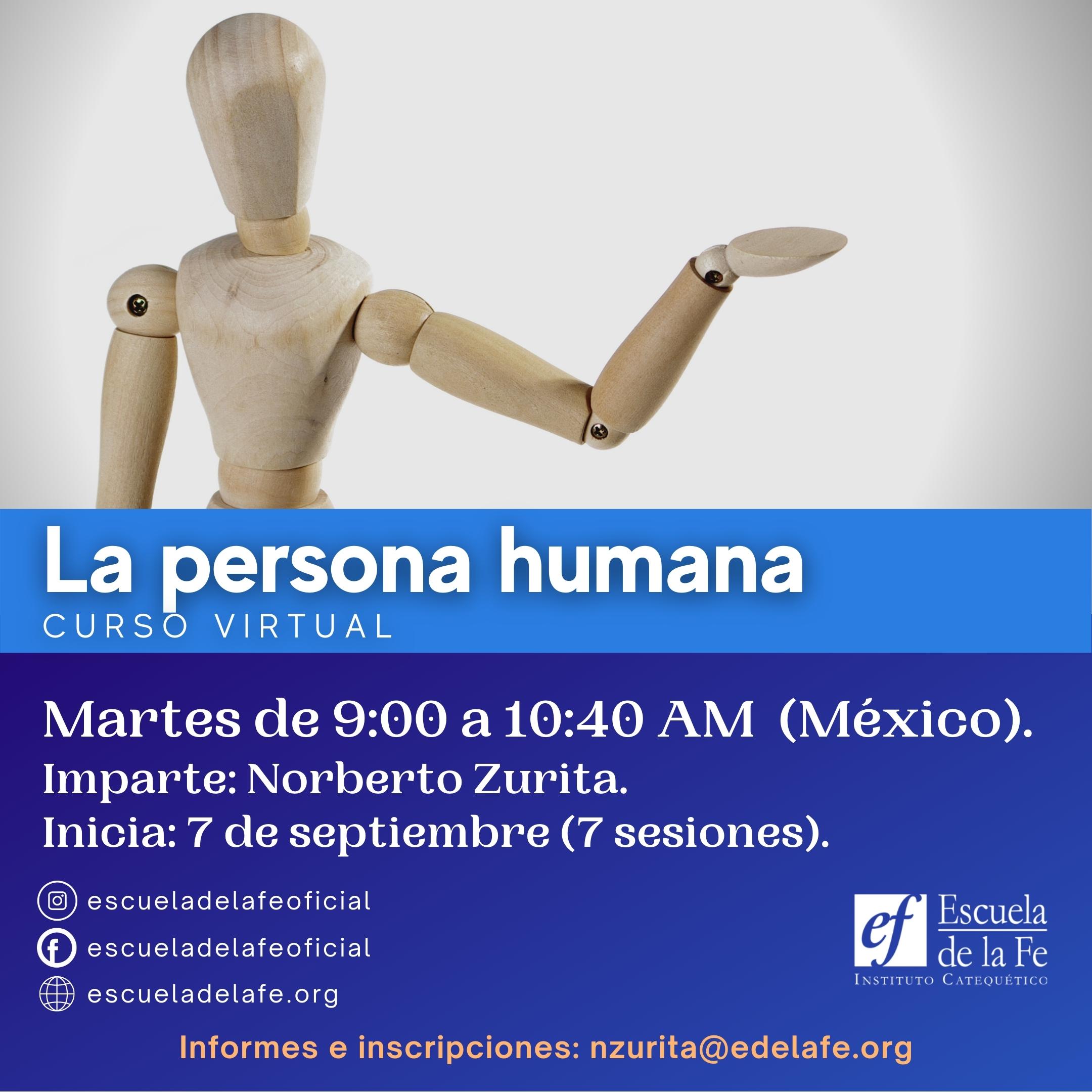 Curso virtual la persoa humana